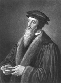 John Calvin (1509-1564): We are cleansed by his blood